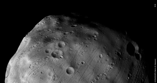 Phobos'un şimdiye kadar ki en ayrıntılı görüntüsü