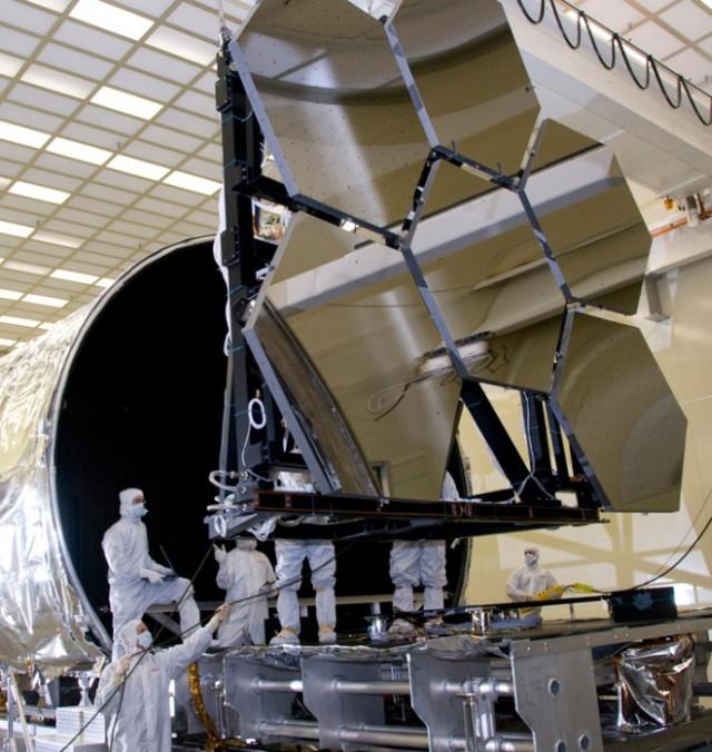 james webb teleskobunun aynaları
