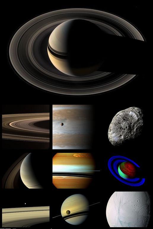 Cassini sondasının yolladığı en iyi 10 fotoğraf