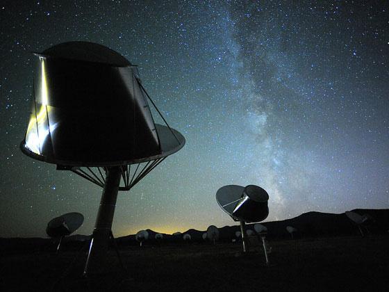 Allen Teleskop Dizisi'nin antenleri - Seth Shostak, SETI Institute