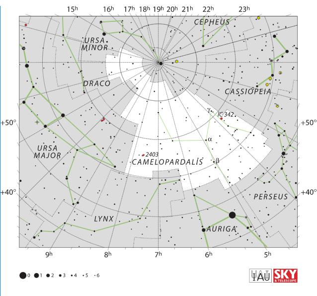 yıldız haritası